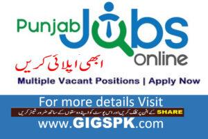 punjab jobs online portal jobs 2021 gigspk
