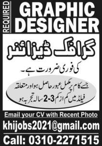 Latest Graphic Designer Private Jobs 2021