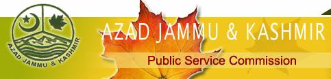 AJKPSC Latest Fresh New Upcoming Govt Jobs - Azad Jammu & Kashmir Public Service Commission