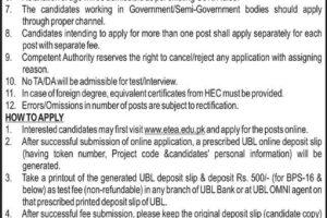 Public Sector Organization Peshawar ETEA Jobs 2021 Mines Labour Welfare Department